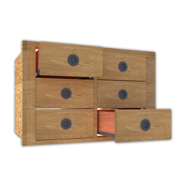 cajonera a medida comprar cajonera a medida 3 cajones dobles carpinter a tienda cajoneras de armario