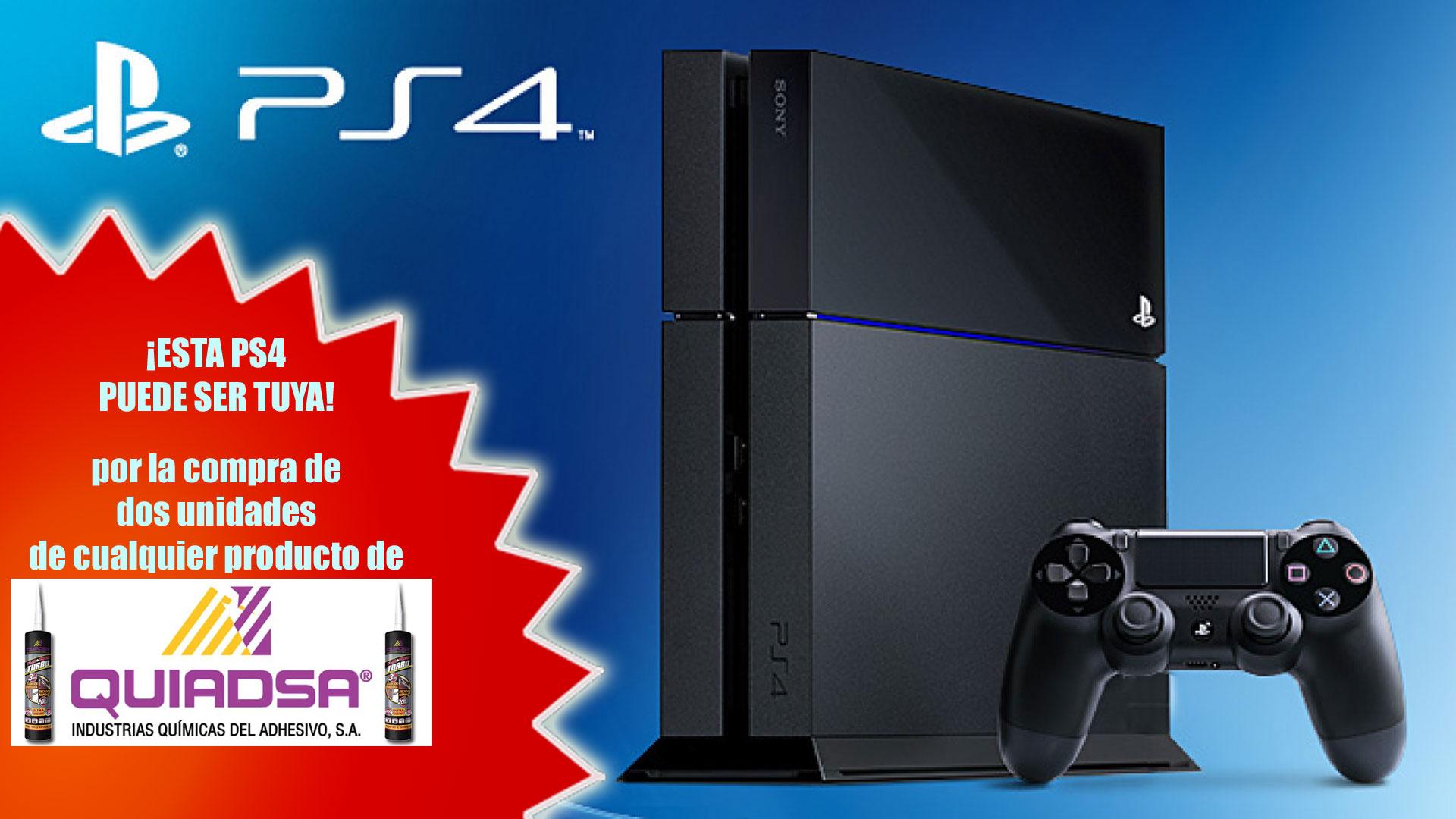 ¡SORTEAMOS UNA PS4!