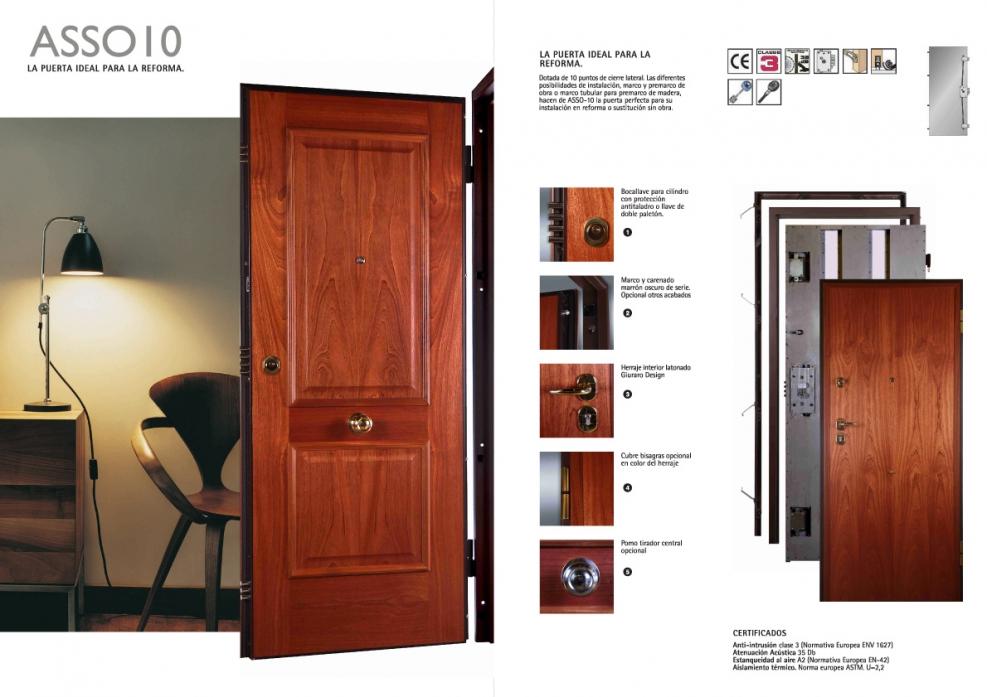 Comprar puerta acorazada dierre asso 10 carpinter a tienda acorazadas y blindadas - Lamiplast cocinas ...